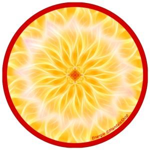 Disque harmonisant Mandala de l'Energie