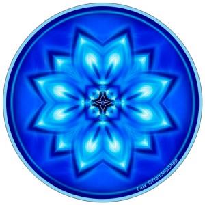 Harmonizing platter Mandala of Peace