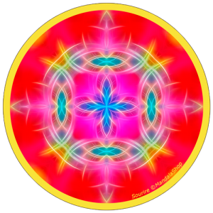 Disque harmonisant Mandala du Sourire