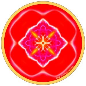 Disque harmonisant Mandala de l'Acte