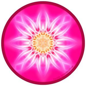 Harmonizing platter Mandala of Family