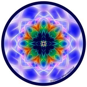 Harmonizing platter Mandala of Expansion