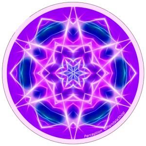 Harmonizing platter Mandala of Perception