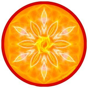 Harmonizing platter Mandala of Fire