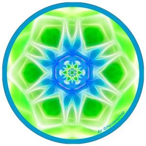 Disque harmonisant Mandala de l'Air