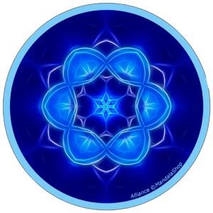 Harmonizing platter Mandala of Alliance