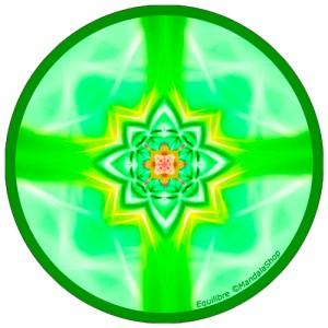 Disque harmonisant Mandala de l'Equilibre