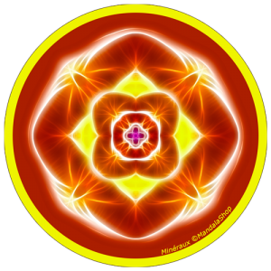 Harmonizing platter Mandala of Minerals