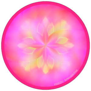 Harmonizing platter Mandala Source of Happiness and Enthusiasm