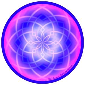 Disque harmonisant Mandala Aide à traverser les épreuves