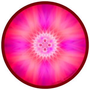 Harmonizing platter Mandala of internal Joy