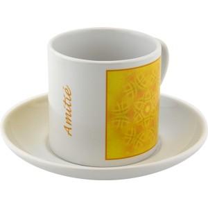 Tasse à thé Mandala de l'Amitié