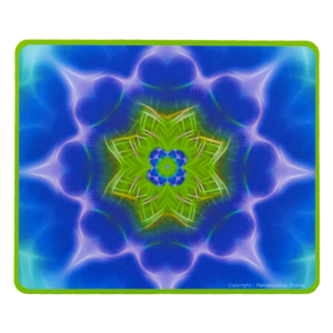 Rectangular mouse pad Mandala of growth