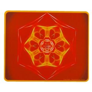 Tapis de souris rectangulaire Mandala de la Connaissance