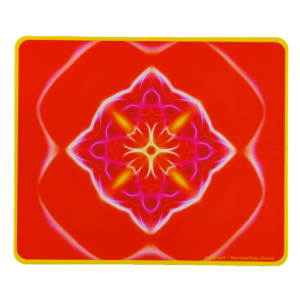 Rectangular mouse pad Mandala of Action