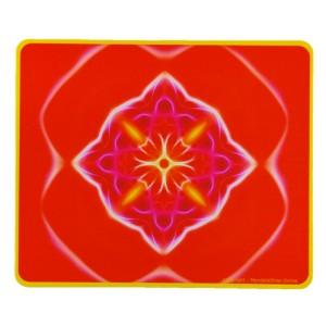 Tapis de souris rectangulaire Mandala de l'Action