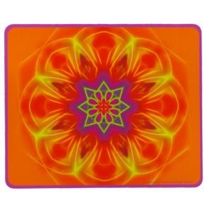 Tapis de souris rectangulaire Mandala de l'Honnêteté
