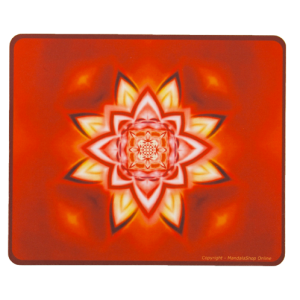 Tapis de souris rectangulaire Mandala de l'Individualité