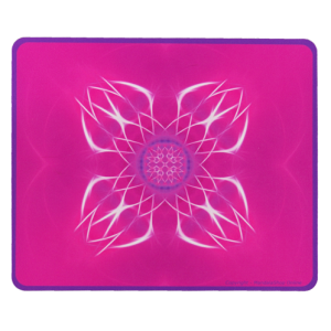 Rectangular mouse pad Mandala of Blossoming