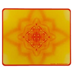 Tapis de souris rectangulaire Mandala de l'Ambition
