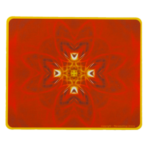 Rectangular mouse pad Mandala of Determination