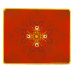 Tapis de souris rectangulaire Mandala de la Détermination