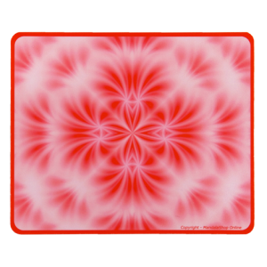Tapis de souris rectangulaire Mandala de la Floraison