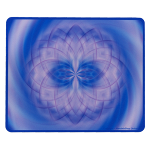 Tapis de souris rectangulaire Mandala qui aide les jeunes pendant l'adolescence