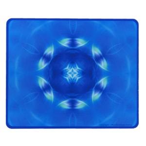 Tapis de souris rectangulaire Mandala de l'impulsion pour étudier