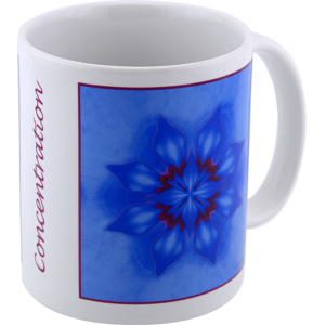Mug mandala of Concentration