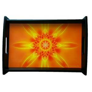Serving tray Mandala of Illumination