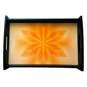 Serving tray Mandala of Gentleness