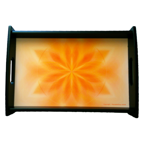 Serving tray Mandala of Gentleness