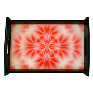 Serving tray Mandala of Blossoming