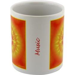 Mug mandala of Music