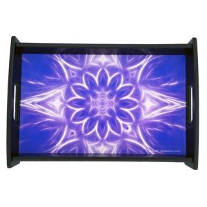 Serving tray Mandala of Calm