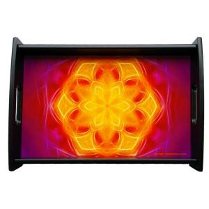 Serving tray Mandala of Wisdom
