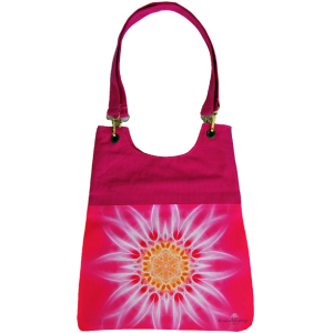 Pink mandala bag for woman