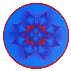 Round mouse pad Mandala of Concentration