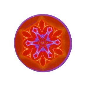Magnet rond mandala de l'Harmonie