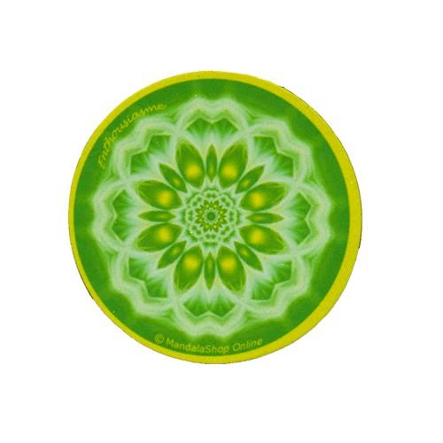 Round magnet mandala of Enthousiasm