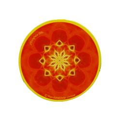Round magnet mandala of Prosperity