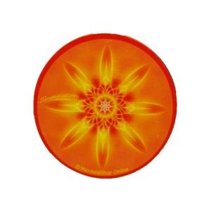 Magnet rond mandala de l'Illumination