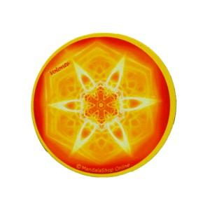 Magnet rond mandala de la Volonté
