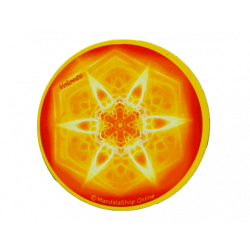 Round magnet mandala of Will