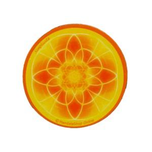 Magnet rond mandala de la Simplicité