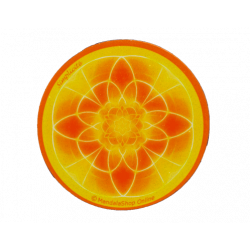 Round magnet mandala of Simplicity