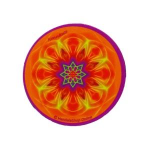 Magnet rond mandala de l'Honnêteté