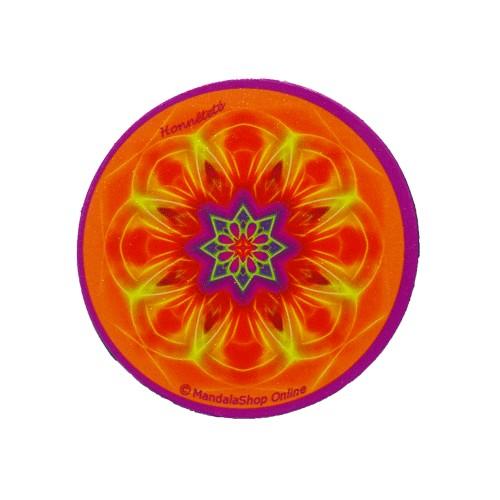 Round magnet mandala of Honesty