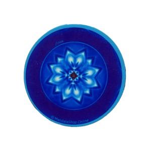 Magnet rond mandala de la Paix